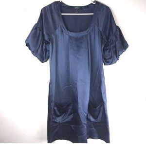 Kenneth Cole Reaction Womens Silk Dress Size 4 Shi